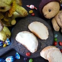 Бутерброды с сахаром и сметаной