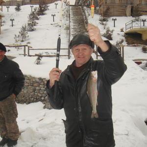 Рыбалка на горной речке Талгар через дорогу от дачи