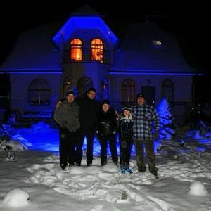 Зимний вечер в кругу семьи и в родном гнёздышке