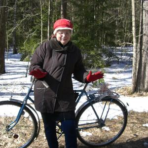 На велосипеде по лыжне? А легко!