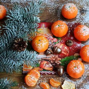 Оранжевое чудо - предвестник волшебного праздника.
