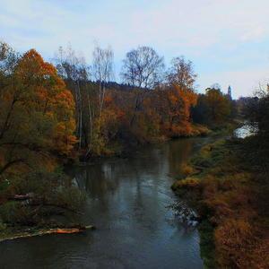 Река Воря. Осень