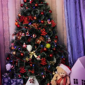 А вот и другая моя новогодняя елочка