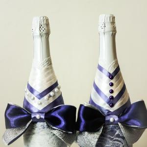 очаровательные бутылочки в подарок на новый год