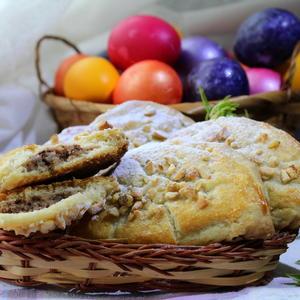 Печенье с ореховой начинкой к празднику