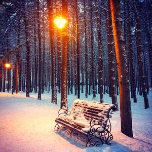 Ночь, улица, фонарь, скамейка...