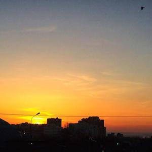 Мартовский закат