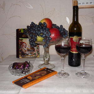 """""""Вино запрещено, но есть четыре но:  смотря кто, с кем и в меру ль пьет вино. При соблюдении сих четырех условий всем здравомыслящим – вино разрешено"""""""