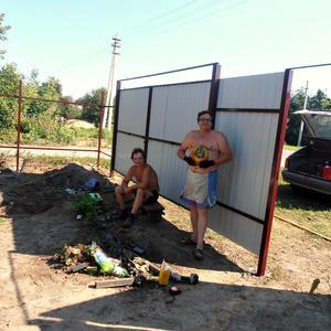 Строим новый забор