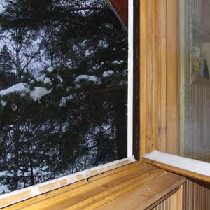 Зимнее утро на даче