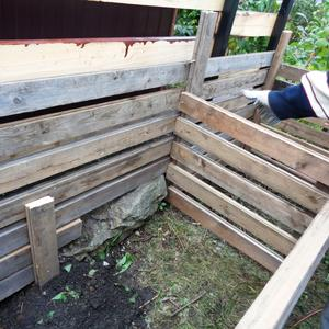 Строим компостный ящик