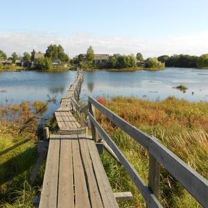 Мост в соседнюю деревню