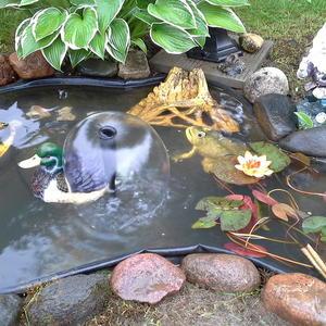 В нашем бассейне не поплавать - но ножки можно помочить!