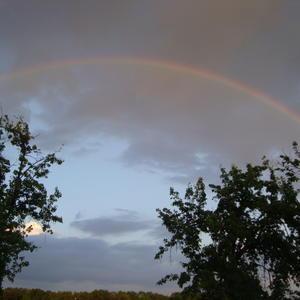 Вечер+радуга