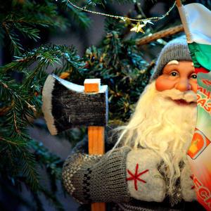 Мой Дед Мороз - неизменное украшение новогодней Ёлки