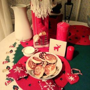 Новогодний завтрак))
