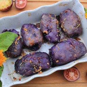 Немного экзотики - запеченный картофель 'Чёрный мавр'