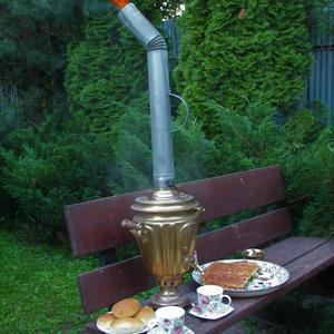 Вечер, дача, самовар... наливаем вкусный чай