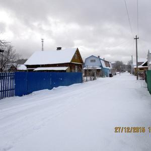 Улица Весенняя зимой.