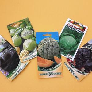 Использую семена от Гавриш для посева самых разных культур