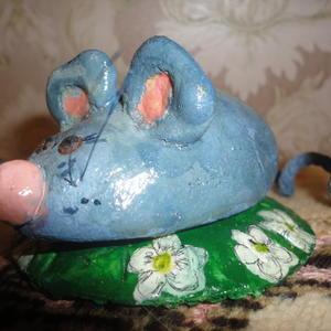 Мышонок из солёного теста