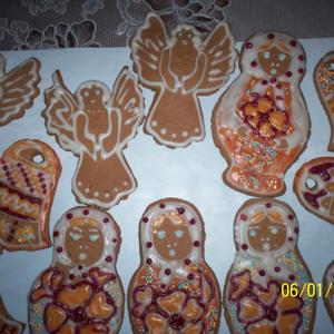Рождественские пряники - козули