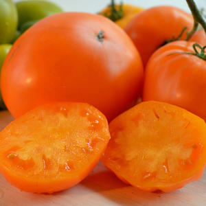 Мое круглое «Бычье сердце оранжевое»