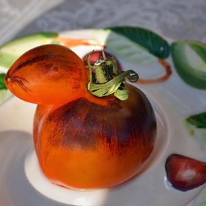 Мой усатый-полосатый помидорчик…