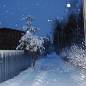 Зимняя дорожка по улице Лесной...