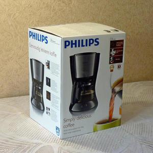С кофеваркой PHILIPS моя семья наслаждается по утрам ароматным кофе...