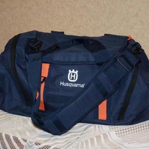 Лучшей сумки в мире нет - дорожная сумка Husqvarna - стильный и современный аксессуар...