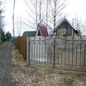 Интересные ворота у соседа моего...