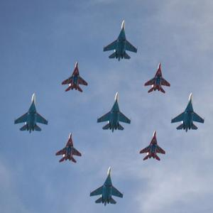 В Москву, на Парад Победы