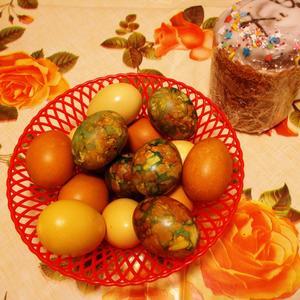 Суетятся все вокруг, яйца красят, торт пекут. Есть тому прекрасный повод - Воскрешение Христово!