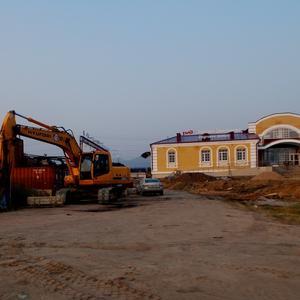 Строительство нового вокзала