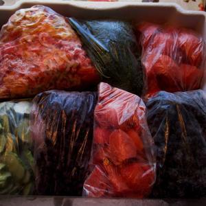 Заморозка - лучший способ хранения урожая