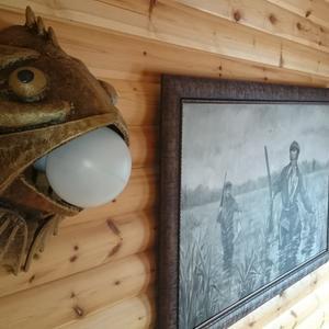 Настенные светильники для рыбака
