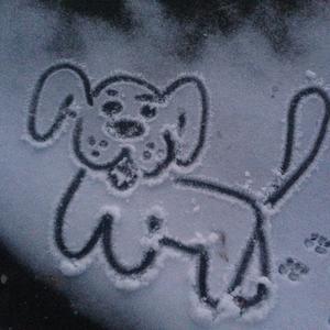 """Какой снег.., такие и """"следы на снегу"""" =))"""