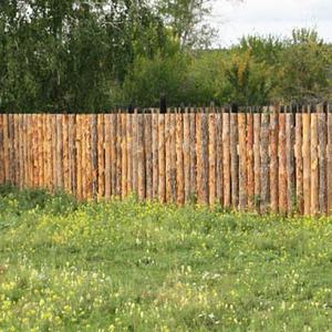 Забор по-сибирски - из обзола