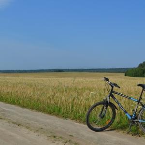 На велосипеде по окрестностям