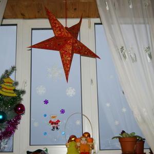 Новый год на окне