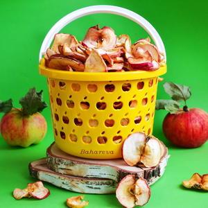 Лучший способ сохранить лето - засушить яблоки.)