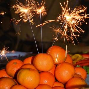 Праздничные мандаринки
