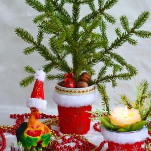 Мини-ёлочка и атрибуты праздника