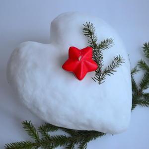 Снежно-сердечная валентинка