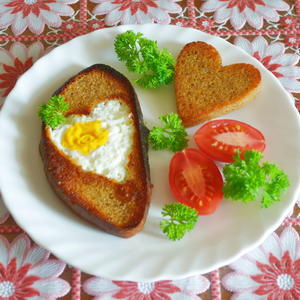 "Бутерброд ""Сердечный"""