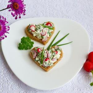"""Бутерброд """"Весенний"""""""