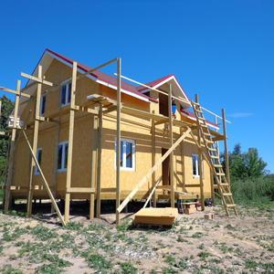 Начало. Строительство дома