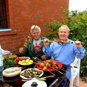 Осенний пикник на даче - поработали, поедим!