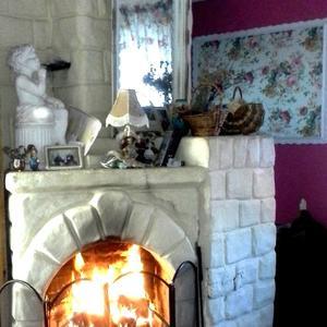 Сердце дома - необычная печь-камин